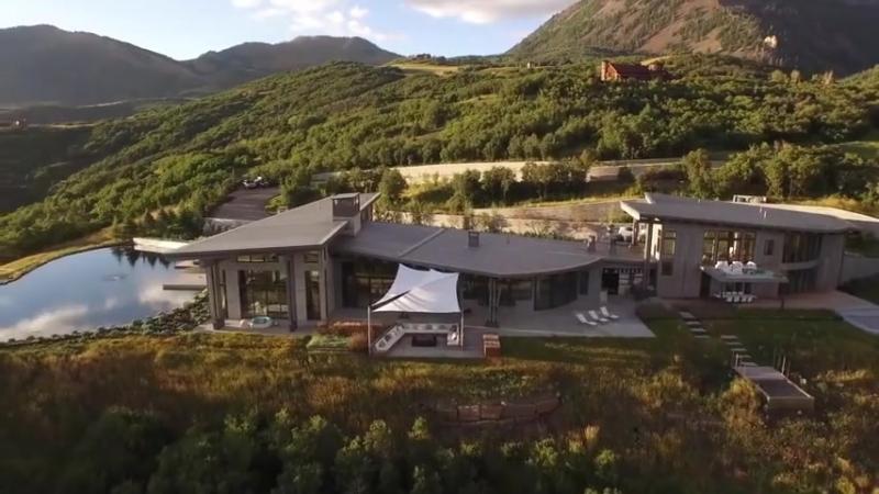 Шедевр современного дизайна, альпийское поместье в Теллуриде, Колорадо