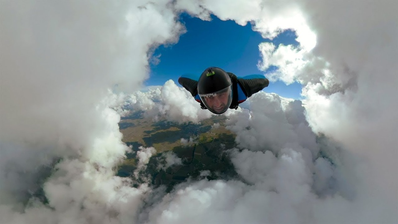 Epic Cloud Cave Wingsuit in Fusion Overcapture