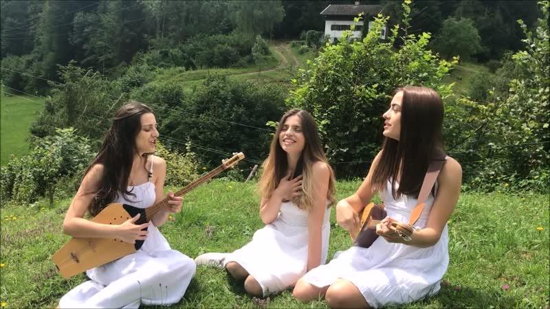 Trio Mandili - Sheni Tvalebi Грузинская песня