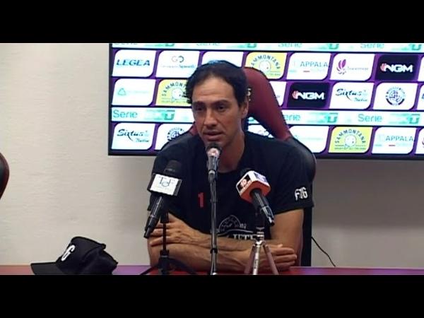 Conferenza stampa di mister Nesta al termine di Livorno-Perugia 2-3