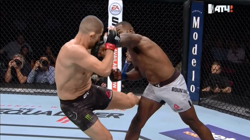Нокаут от Халила Раунтри в бою с Гокхан Саки (Khalil Rountree vs. Gokhan Saki)