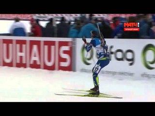 Биатлон  Чемпионат Мира 2015 16  Осло Холменколен Спринт Мужчины 05 03 2016