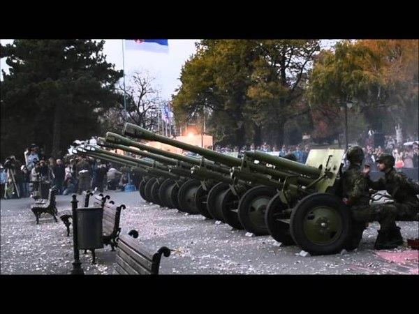 Zis 3 firing to comemorate Ending of WW1 11 November 2015