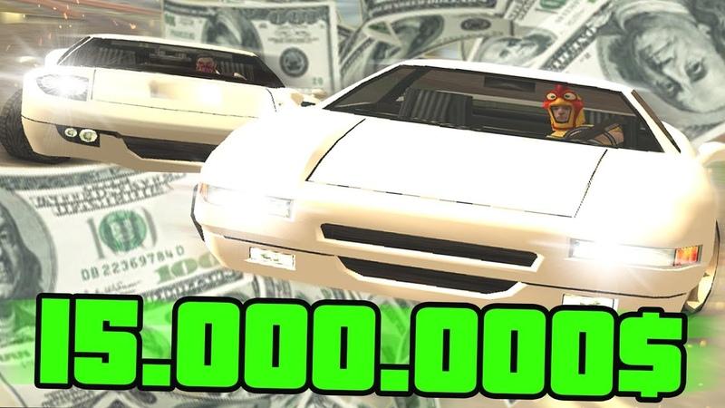 САМАЯ ПОТНАЯ ГОНКА НА 15.000.000$ В GTA SAMP