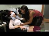 Sarah Banks &amp Sabina Rouge (Full Service Hair Salon) Lesbian