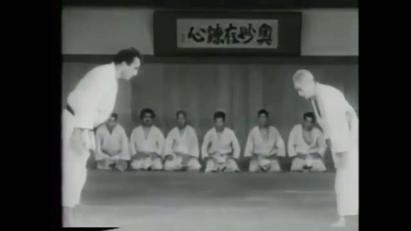 90 years old Judo Master