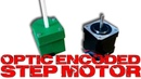 Build an optic encoded HIGH precision step motor