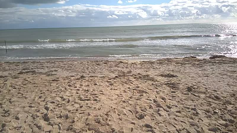 Море плещется