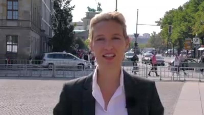 Alice Weidel.Teilen! Fake-News aus dem Kanzleramt!