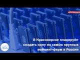В Красноярске планируют создать одну из самых крупных майнинг-ферм в России