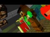 мишка фредди майнкрафт играет виктора цоя на гитаре супер класс видео