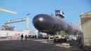 Huntington Ingalls launches Virginia Class submarine Delaware