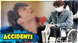 K-POP IDOLS SHOCKING ACCIDENTS COMPILATION (EXO, WANNA ONE, BIGBANG..)