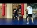 Правый кросс на встречу и левый апперкот 🔥👊 Персональная тренировка с Максимом