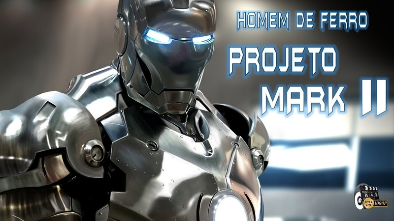 TONY STARK no PROJETO HOMEM de FERRO (Projeto MARK II) | Homem de Ferro (1080p)