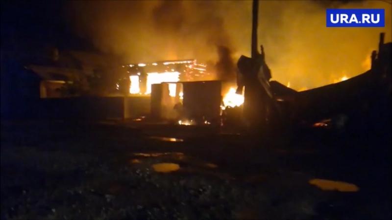 Пожар в Красноуральске, 29.07.2018