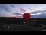 На большом воздушном шаре! 🙃😎🤪