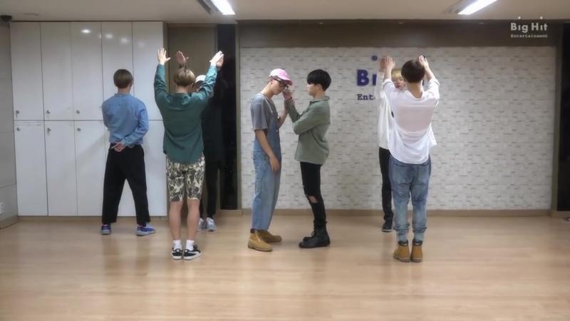 BTS (방탄소년단) 좋아요 Part 2 Dance Practice