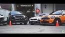 BMW z4, Mercedes,, mini cooper, nissan 350Z, range rover kontestan IAM 2018 medan
