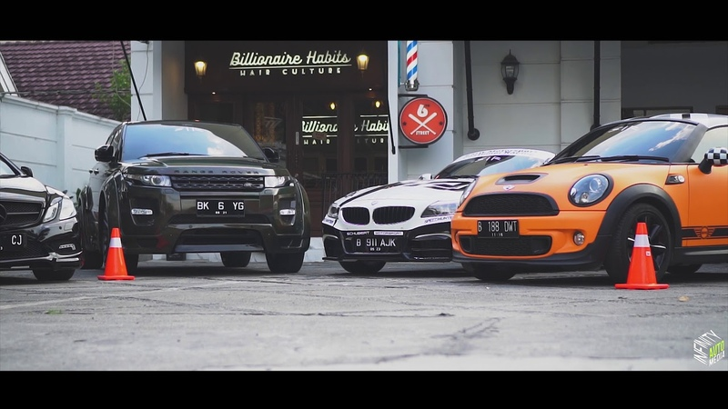 BMW z4, Mercedes,, mini cooper, nissan 350Z, range rover kontestan IAM 2018 medan » Freewka.com - Смотреть онлайн в хорощем качестве