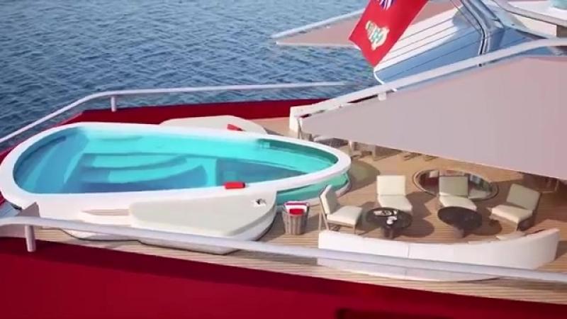117 meter Oceanco TITAN Oceanco's new concept