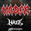 VADER, HATE, THY DISEASE ... 20 сентября в ROCK-
