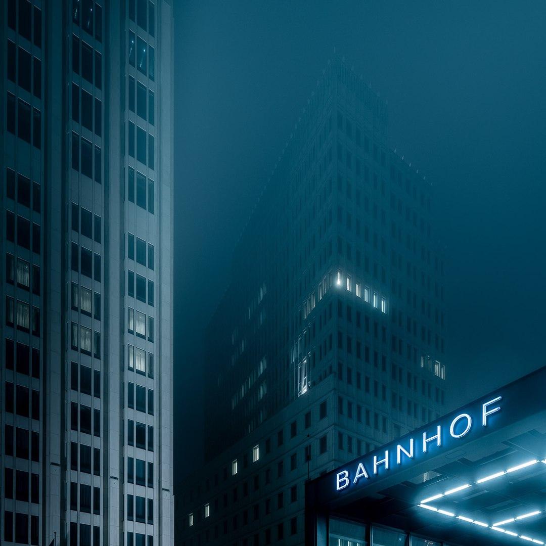 Архитектура ночью
