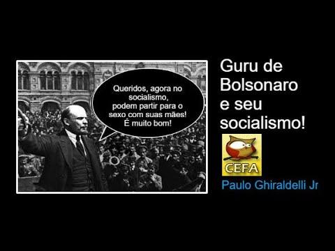 No socialismo de Olavo Bolsonaro de Carvalho filhos fazem sexo com suas mães o dia todo