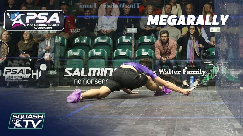Ive got tears in my eyes Joey! - Squash MegaRally - Farag v Coll - PSA World Champs