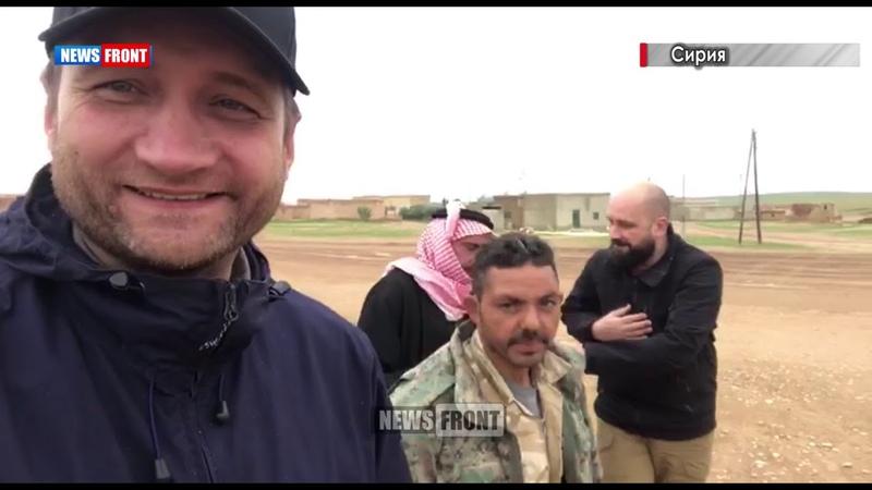 Перемирие в Сирии район Манбиджа на северо-востоке Алеппо