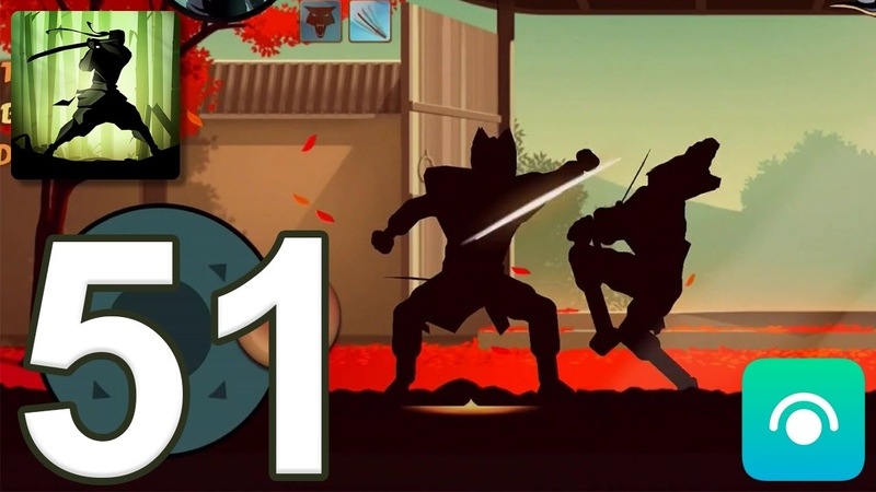 Shadow Fight 2 - Gameplay Walkthrough Part 51 - Interlude: Act 2 (iOS, Android)