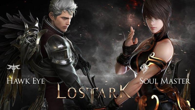 LOST ARK Online - Final CBT New Class Soul Master vs Hark Eye All Skills vs Combo Gameplay Preview