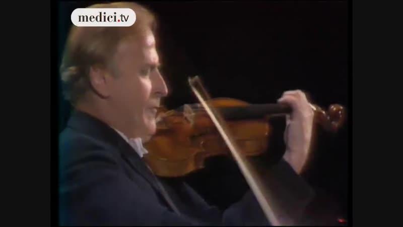 Yehudi Menuhin plays Johann Sebastian Bach - Partita No. 3 In E Major, BWV 1006 I. Preludio
