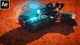 After Effects Scifi Pistol Heat Effect Tutorial