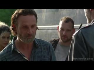 Ниган, Дэрил и Рик - Любовный треугольник (Negan, Rick Grimes, Daryl Dixon/The Walking Dead)