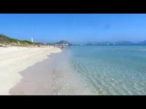Playa de Muro - Playa Port de Alcudia Mallorca