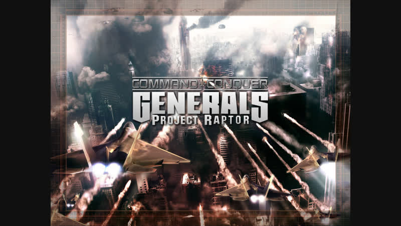 Command and Conquer - Generals Zero Hour - Project Raptor 9.0