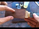 Нож 3 эксперимента в одном : ламинат, литье, стабилка!