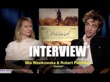 My Full Interview with Mia Wasikowska and Robert Pattinson about 'DAMSEL'