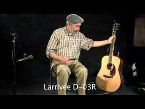 Larrivee D 03S VS DO3R