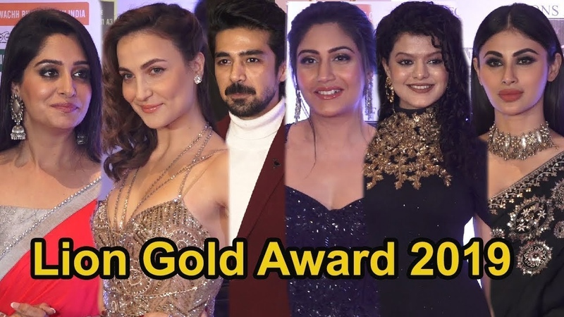 Bollywood Celebrities At The Red Carpet Of 25th Lion's Gold Awards   Mouni Roy