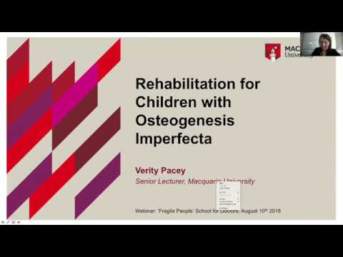 Лекция физического терапевта Верити Пасей