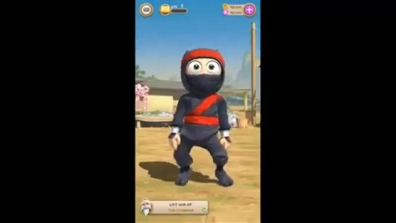Скачать Clumsy Ninja MOD неограниченно монет золота
