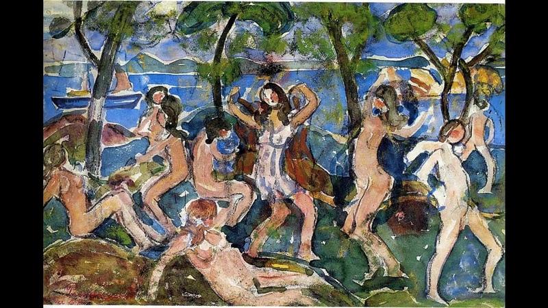 Морис Брэзил Прендергаст (Prendergast Maurice) картины великих художников