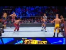 WWE Mania Tye Dillinger Breezango def Mojo Rawley Chad Gable Shelton Benjamin Fastlane 2018