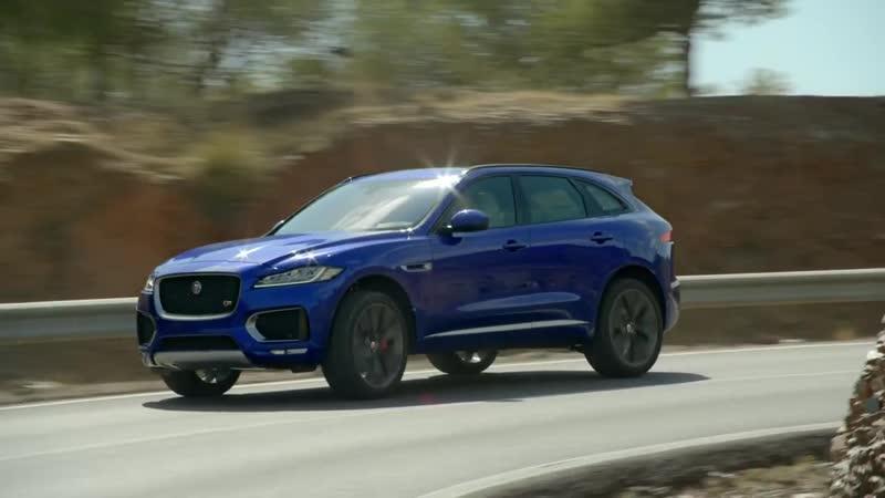 Jaguar F-PACE - Отточенная управляемость