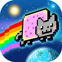 Nyan Cat: Lost In Space [Мод: много денег]