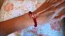 Браслет из натурального камня Красный Кварц Халцедон Продается