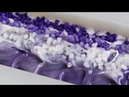 Recreating my FIRST YouTube video (1 year ago today!) Making Amethyst Homemade Cold Process Soap