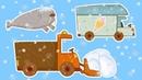 Мультики - МАШИНКИ ❄️ Зима и Новый год 🎅 Снегоуборочная машина, Погрузчик и другие машинки